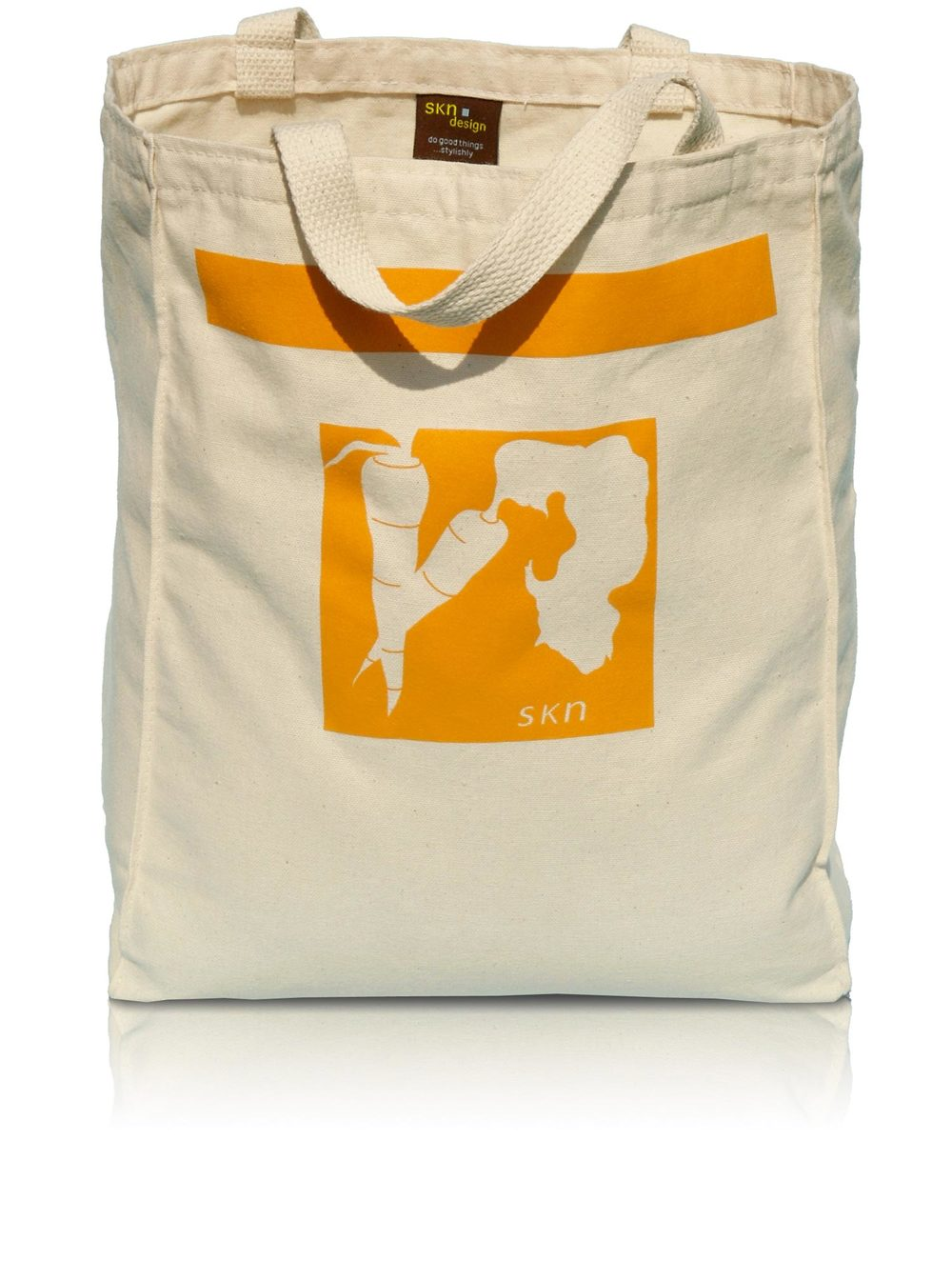 Reusable Grocery Tote—The Carrot Bag