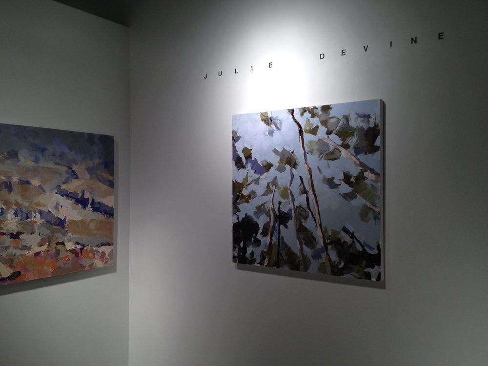 Taos Sky  and  Mt. Saint Helens, Territorial View  at Kate Alkarni Gallery.