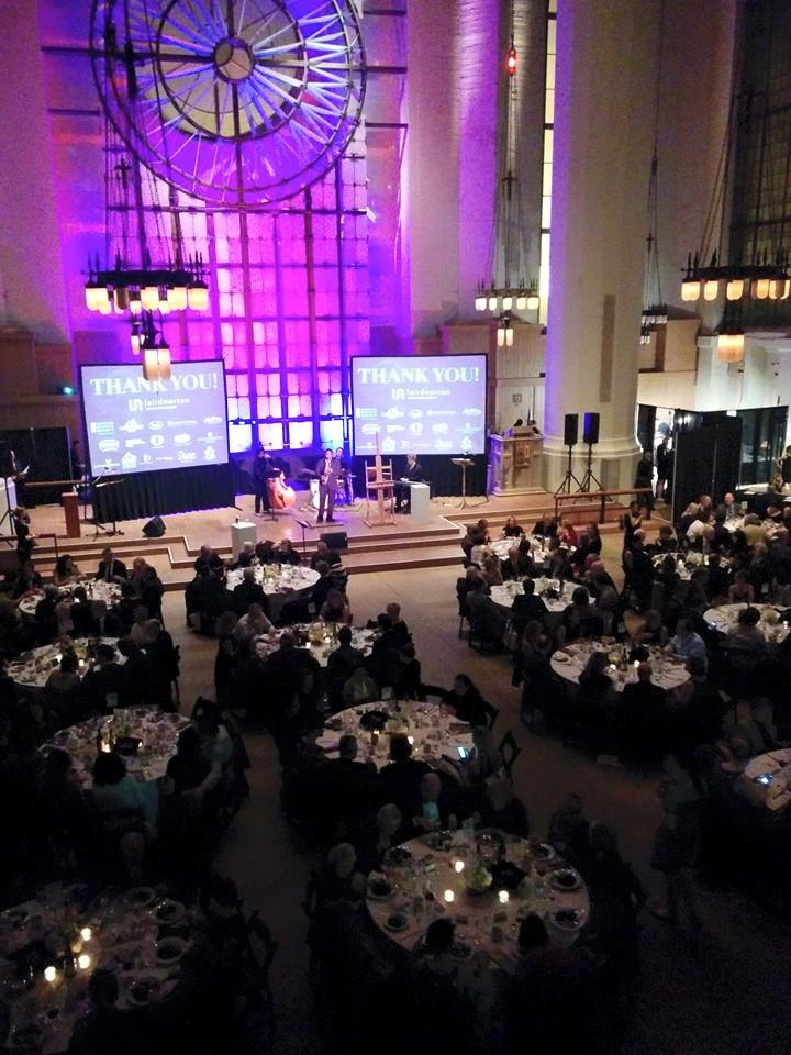 The gala was held at Saint Mark's Catherdral, Seattle, WA.