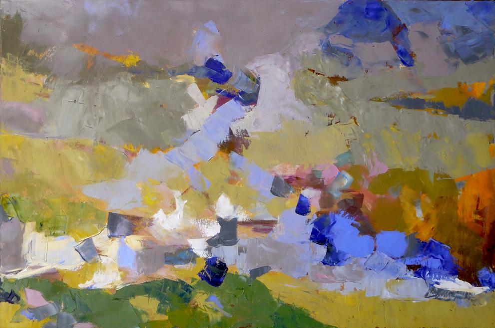 "The Saint,  2015 Oil, 24"" x 36"""