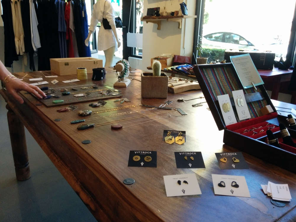 Sassafras offers a large selection of unique jewelry designed and crafted by Pacific Northwest artisans.