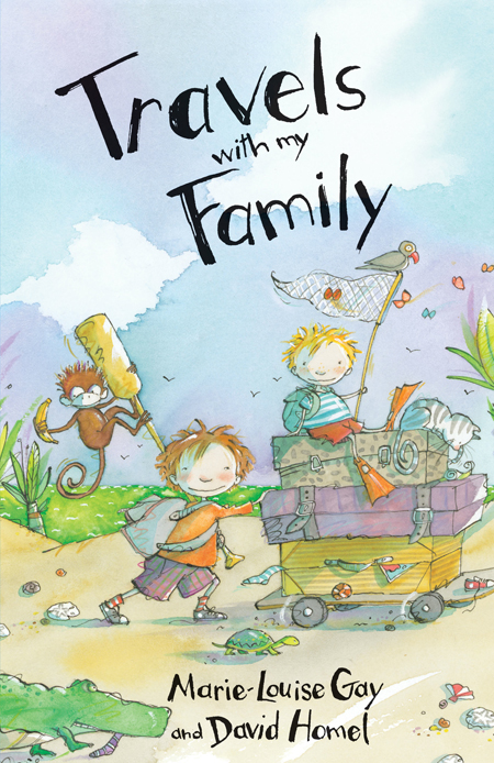 Husband-and-wife team Marie-Louise Gay and David Homel and have combined their prodigious writing and illustrating talents with their own family memories to produce a very different kind of travelogue.