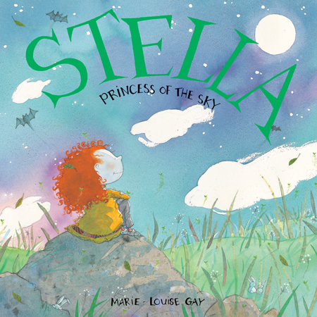 A night adventure for Stella and Sam! Sam wonders if the moon can swim, if tree frogs are as big as wolves or if he can catch shooting stars with his butterfly net. As always, Stella has an answer to every question.