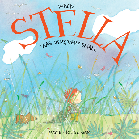 Where does Stella get her wild ideas? How big is Stella's imagination? What did Stella look like when she was small? In this book in the Stella and Sam series, Marie-Louise Gay has gone back in time to answer the questions often asked by the children who read and love the books.
