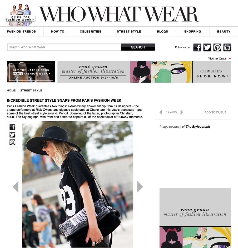 who what wear     Paris fashion week- Sept 2013