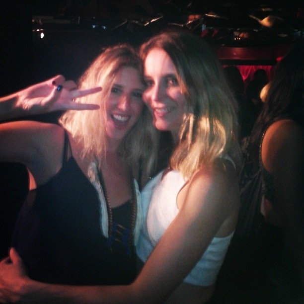 Dream came true! partying with my fav aussie style icon Oracle fox