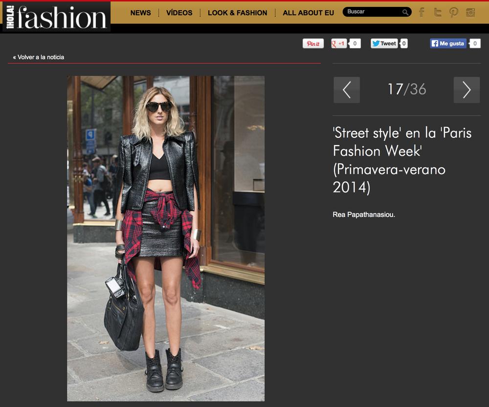 'Street style' en la 'Paris Fashion Week' (Primavera-verano 2014) - Foto 17 (20131031).jpg