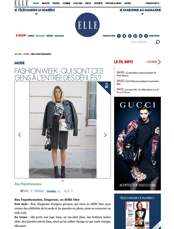Rea Papathanasiou - Fashion Week -qui sont ces gens à l'entrée des défilés ? - Elle (20131003).jpg