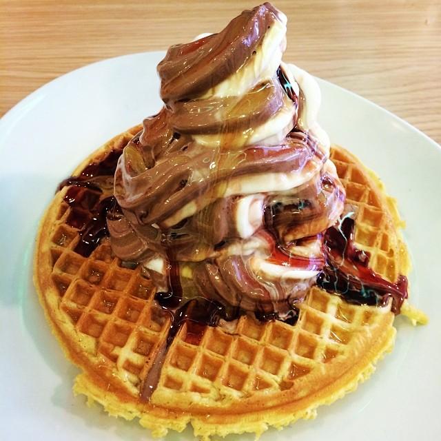 My kind of waffle