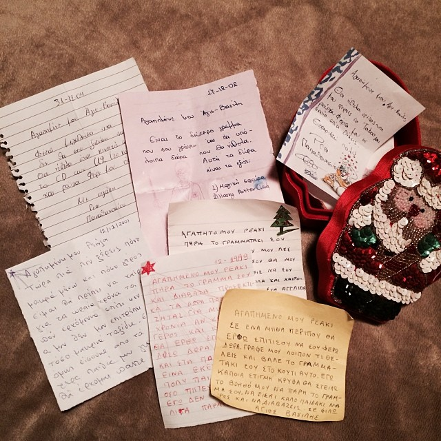 dear santa... {letters to and from santa}