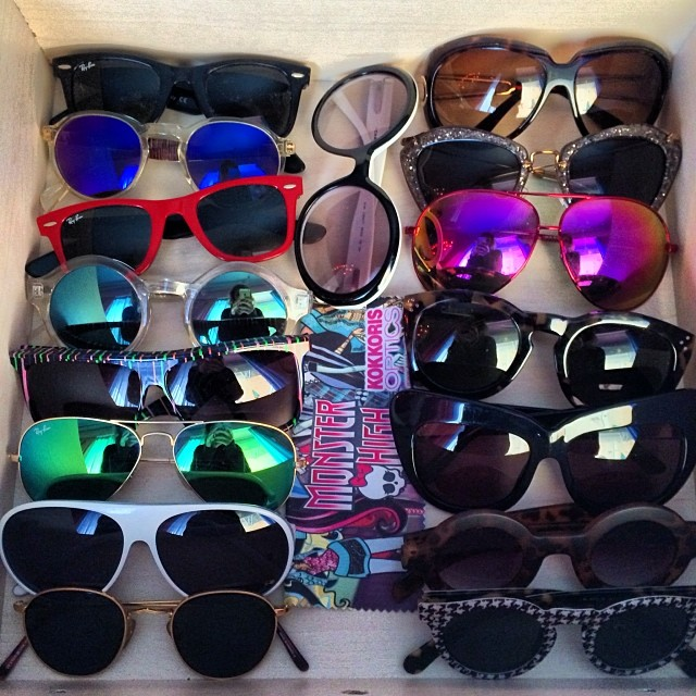 part of my eyewear collection