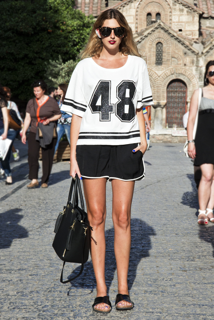 spotted on Joy.gr after the h&m summer party