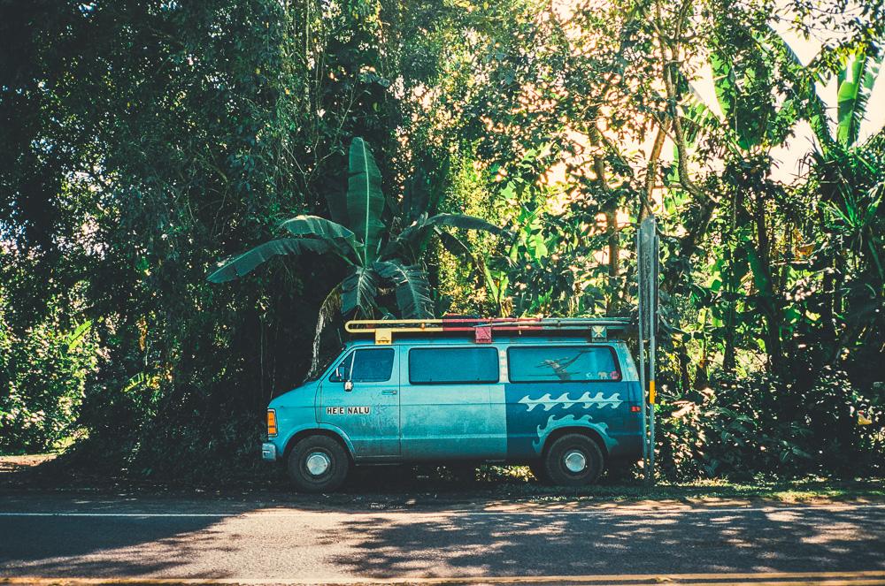 Hanalei. Contax T3  35mm Kodak Portra 400
