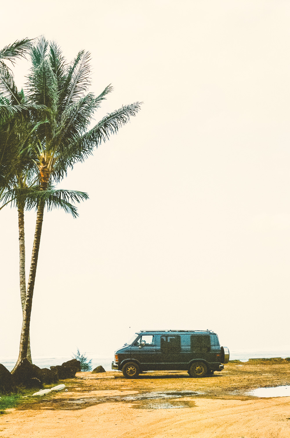 Anini Beach. Olympus OM-1 50mm. Kodak Portra 400