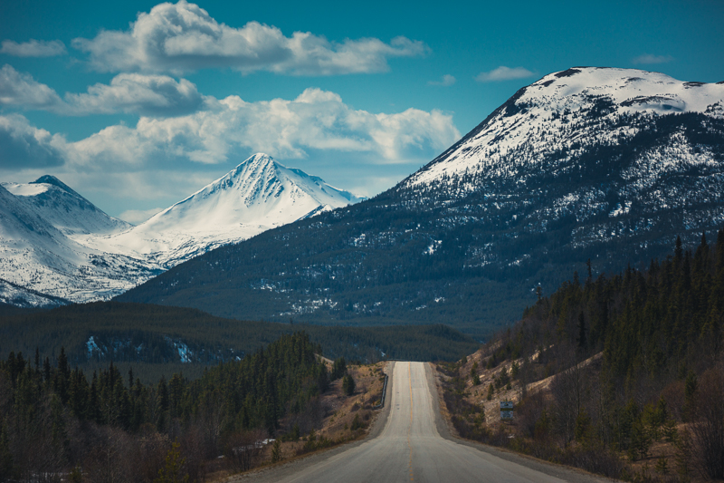 The Alaska Highway, Yukon - Canon 5DMKIII 150mm - 1/1600 @ f 6.3, ISO 400