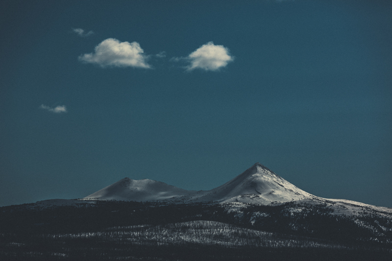 Love these two little peaks.  Alaska Highway, Yukon -  Canon 5DMKIII 155mm - 1/2000 @ f5.6, ISO 200