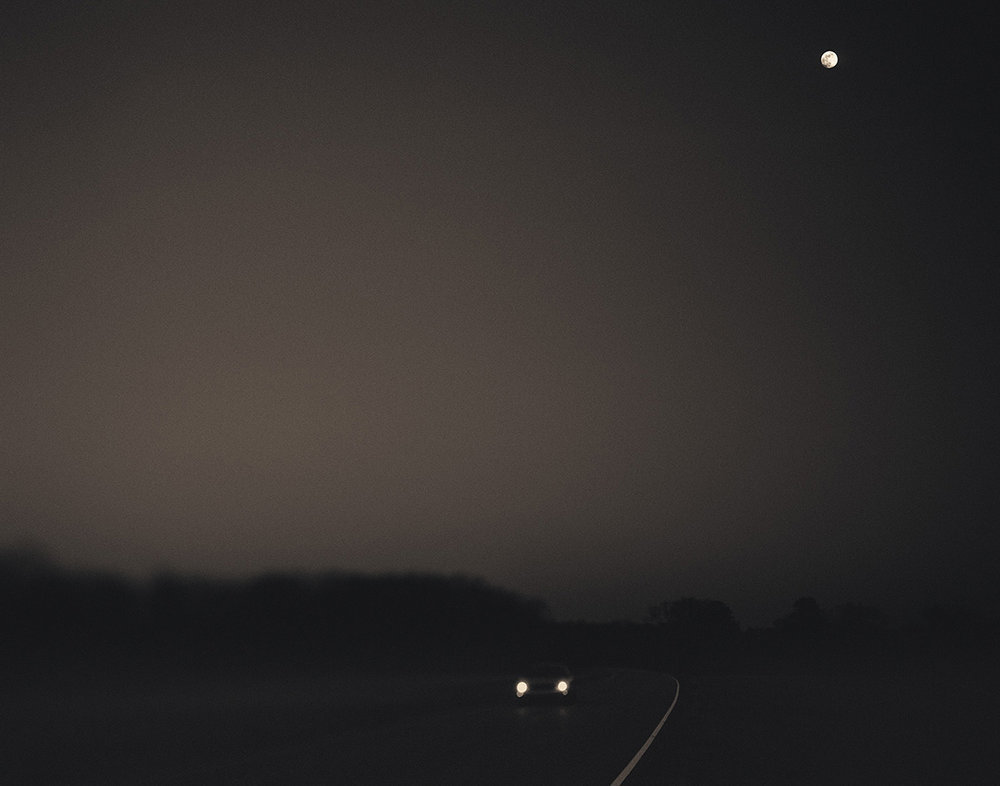 Car and Moon, Mississippi