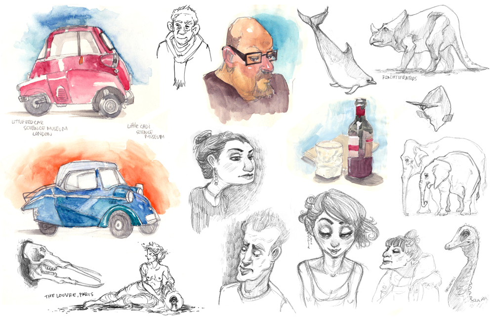 Sketches!  by * cachava