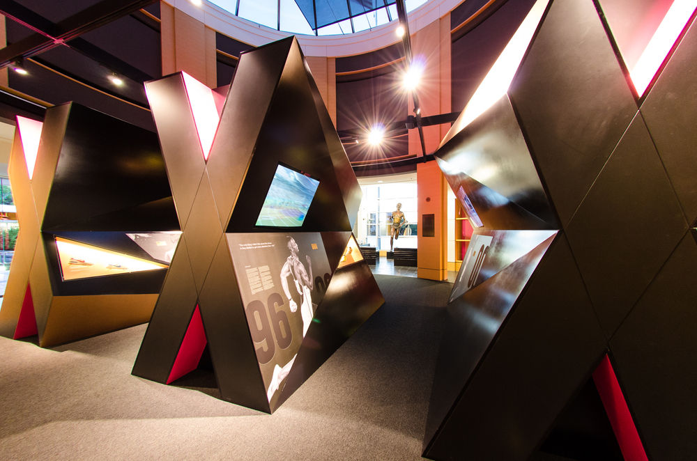 Nike DNA Olympic Exhibit