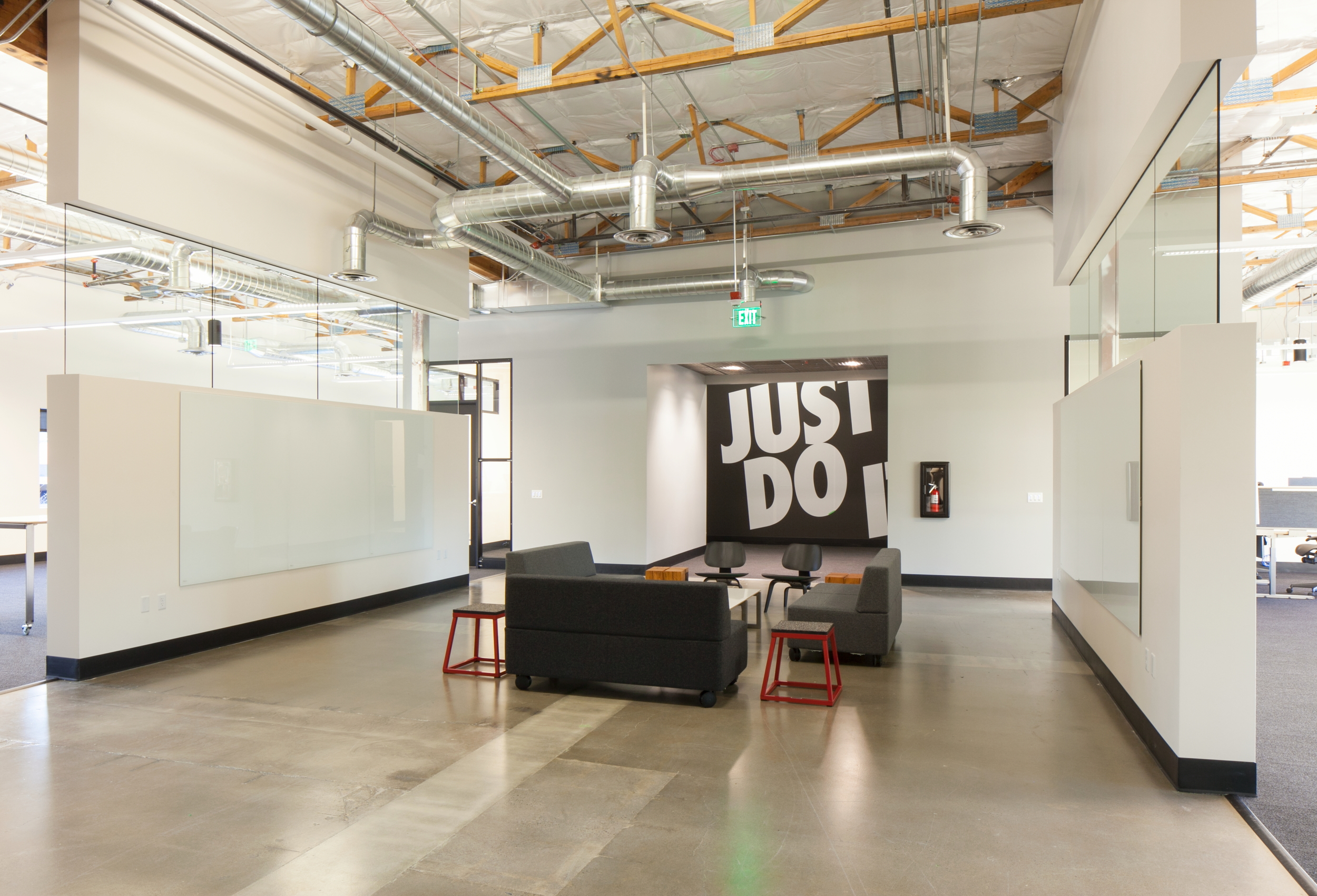 Office Renovation nike jay street office renovation — orangewallstudios