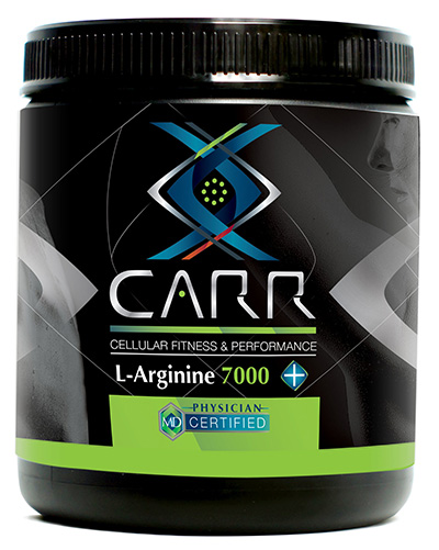 L-Arginine 7000 mg per scoop with great new flavor!
