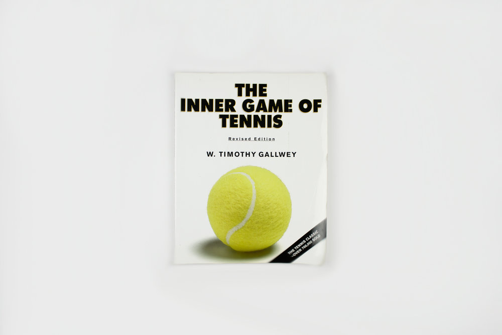 the inner game of tennis book W timothy gallwey's the inner game of tennis: the classic side to the mental guide of peak performance was a phenomenon when it was published in 1972, mainly for its revolutionary take on overcoming the self-doubt, nervousness, and lapses of concentration that can keep a player from winning.