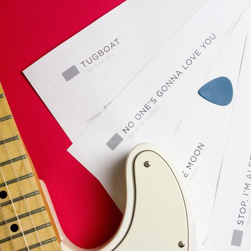 New Slang - Song Sheet | The School of Feedback Guitar