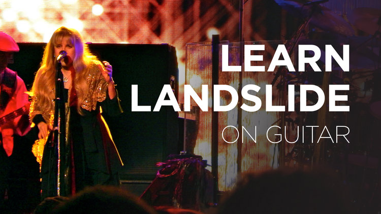 Learn Landslide On Guitar The School Of Feedback Guitar