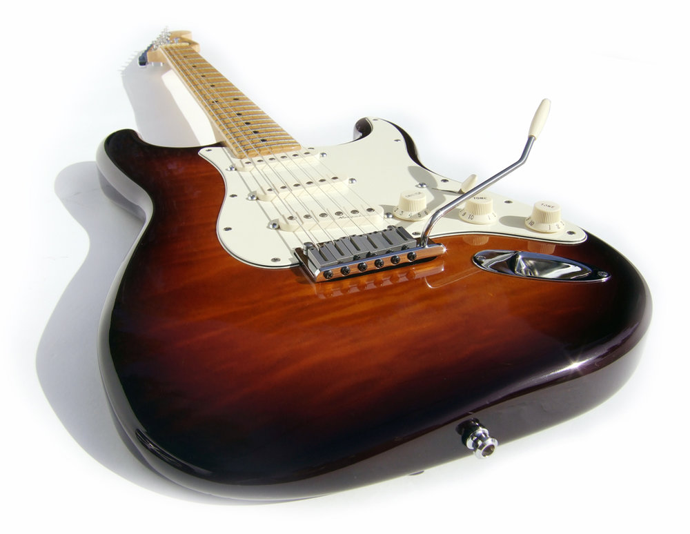 Fender American Stratocaster by irish10567, Attribution 2.0 Generic