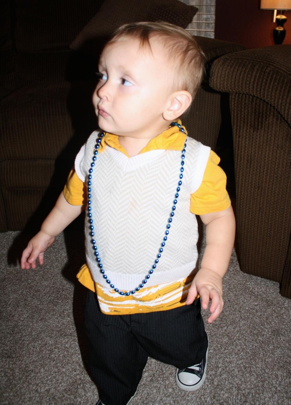 """Judah quite unconcernedly chose """"boy""""."""