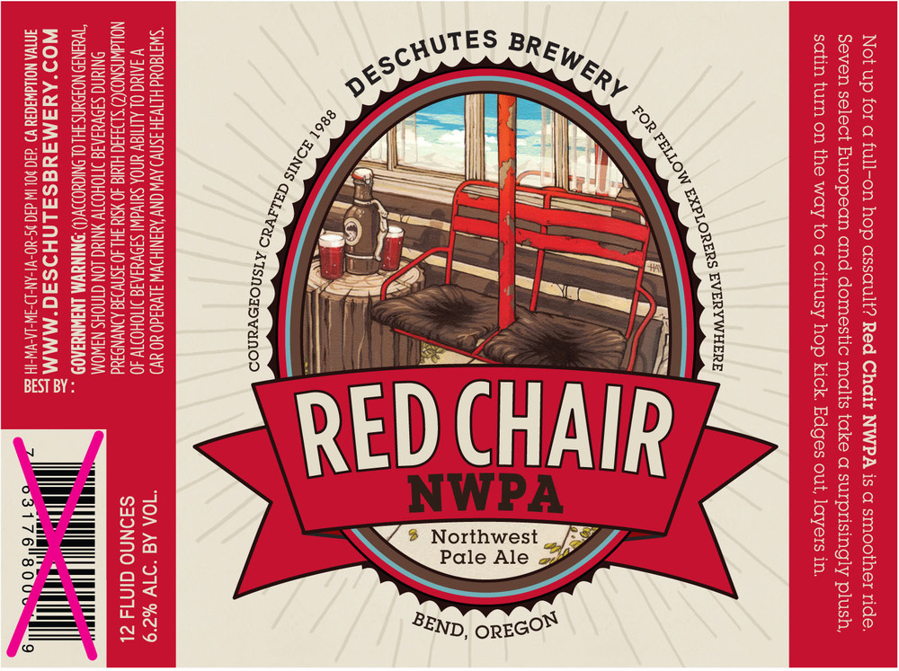 Deschutes's Red Chair NWPA