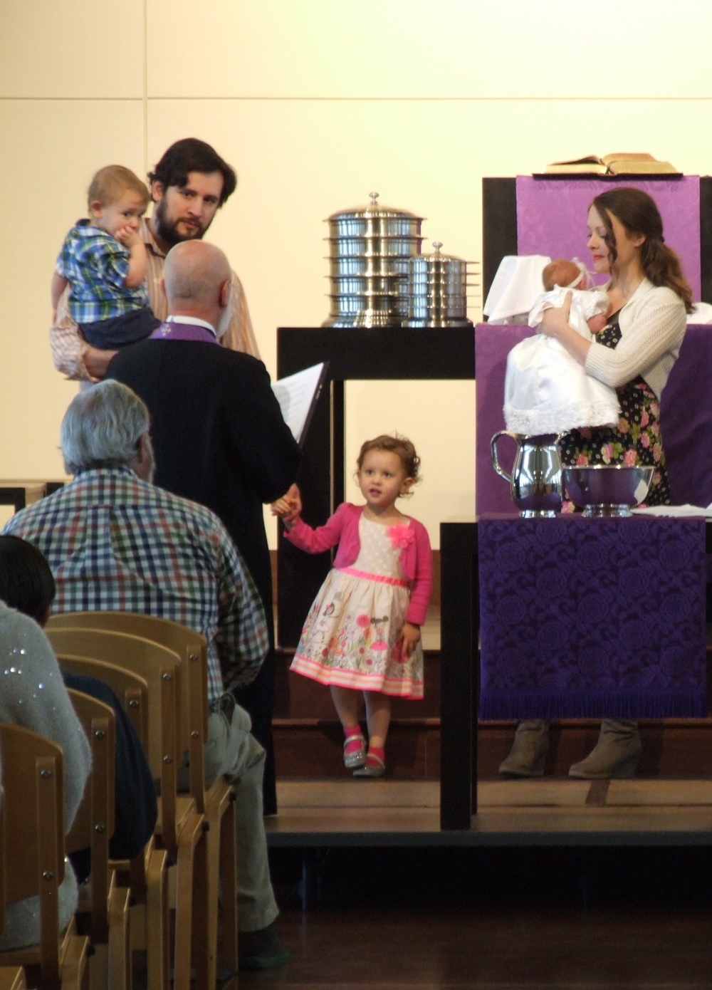 Kenzie Answering Questions & Joining the Church.