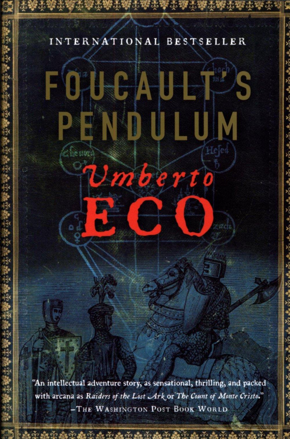 Book Review: Foucault's Pendulum by Umberto Eco