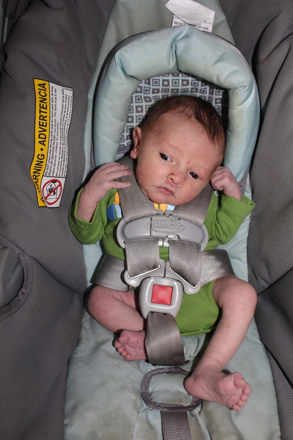 Non-Towel CarSeat