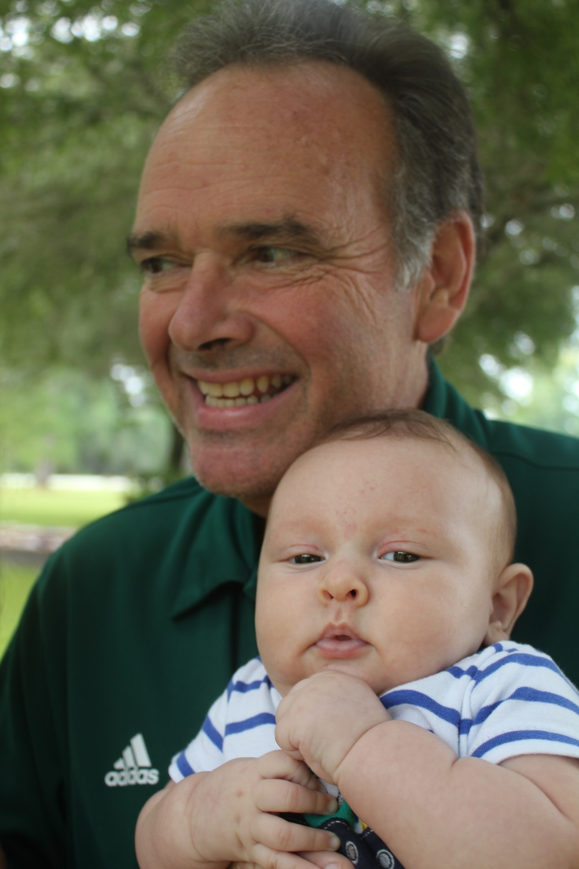 Chubby Bean & Grandpa