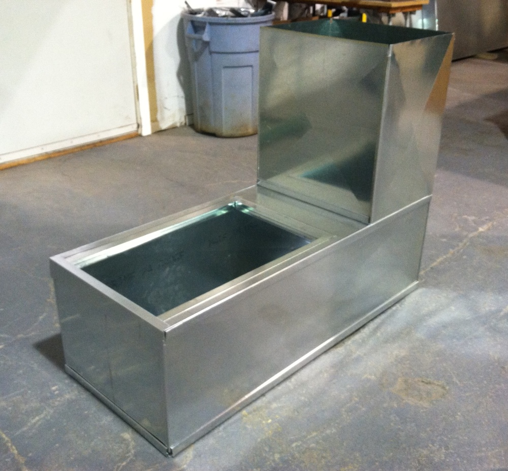 Custom Furnace Support Box