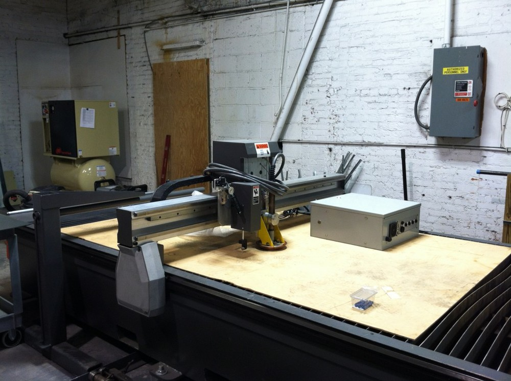 CNC Plasma Table & Air Compressor