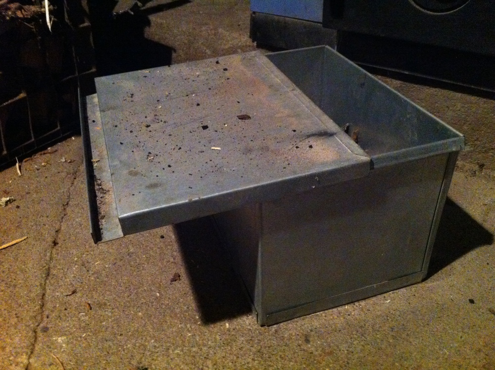 Custom Galvanized Sheet Metal Ash Box K Amp E Sheet Metal