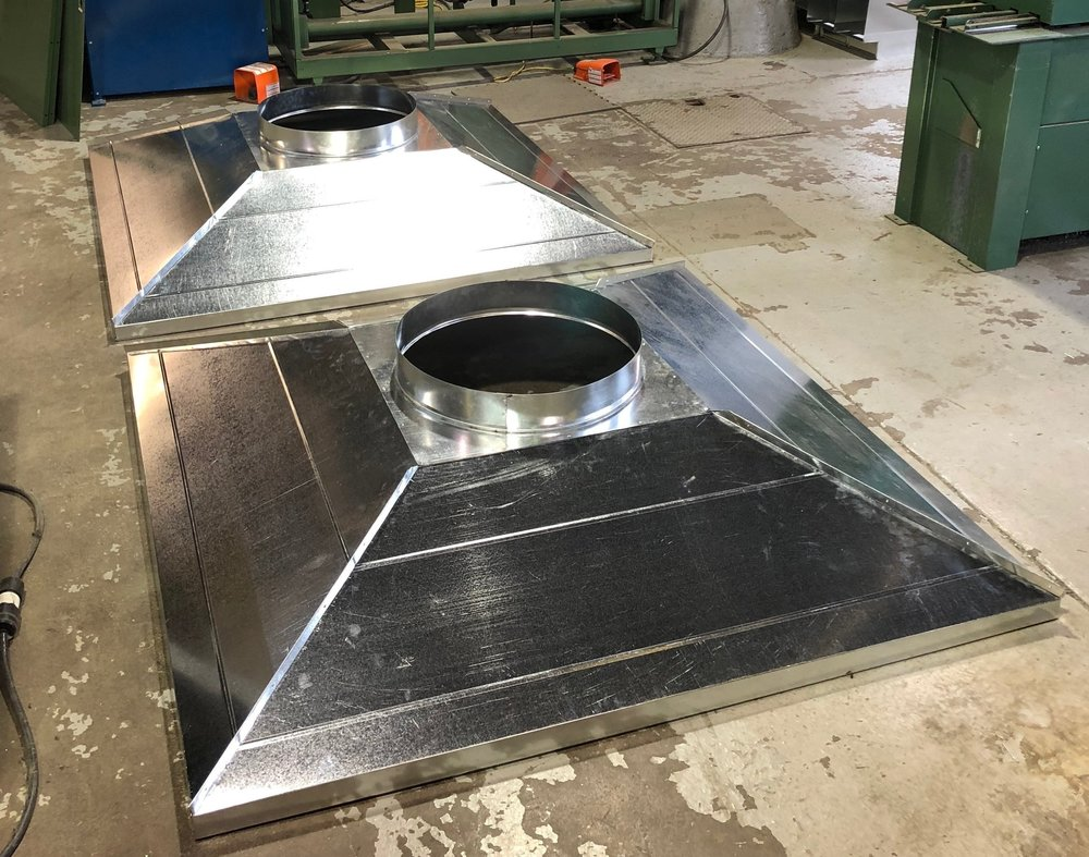 Custom Standing Seam Exhaust Hood