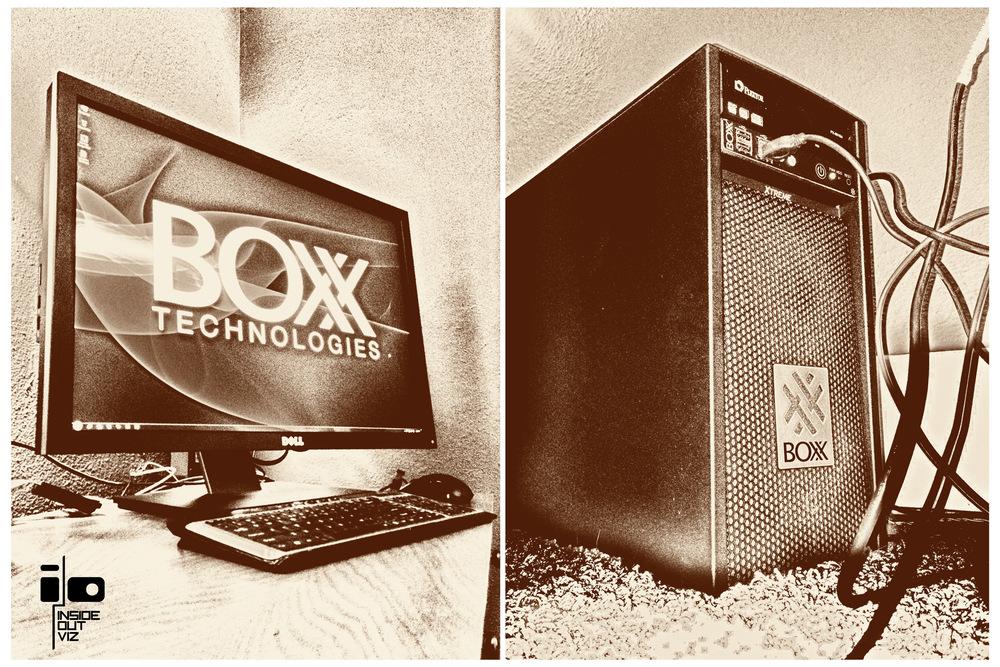 IO Viz is powered by BOXX.
