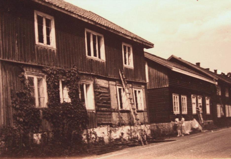 På 1970-tallet fremstår Eidsfoss som en spøkelsesby, medknuste vinduer og fraflyttede hus som ikke er malt siden 1910.