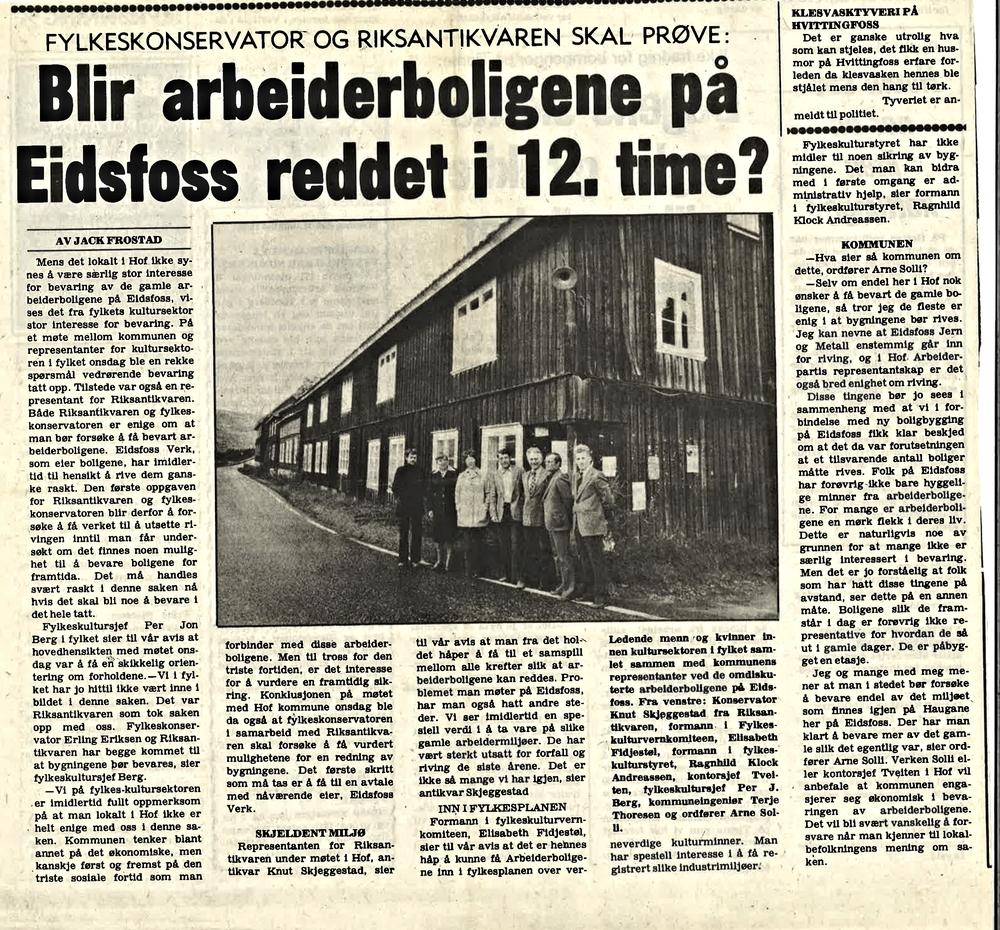 Vestfold Arbeiderblad 31. august 1978