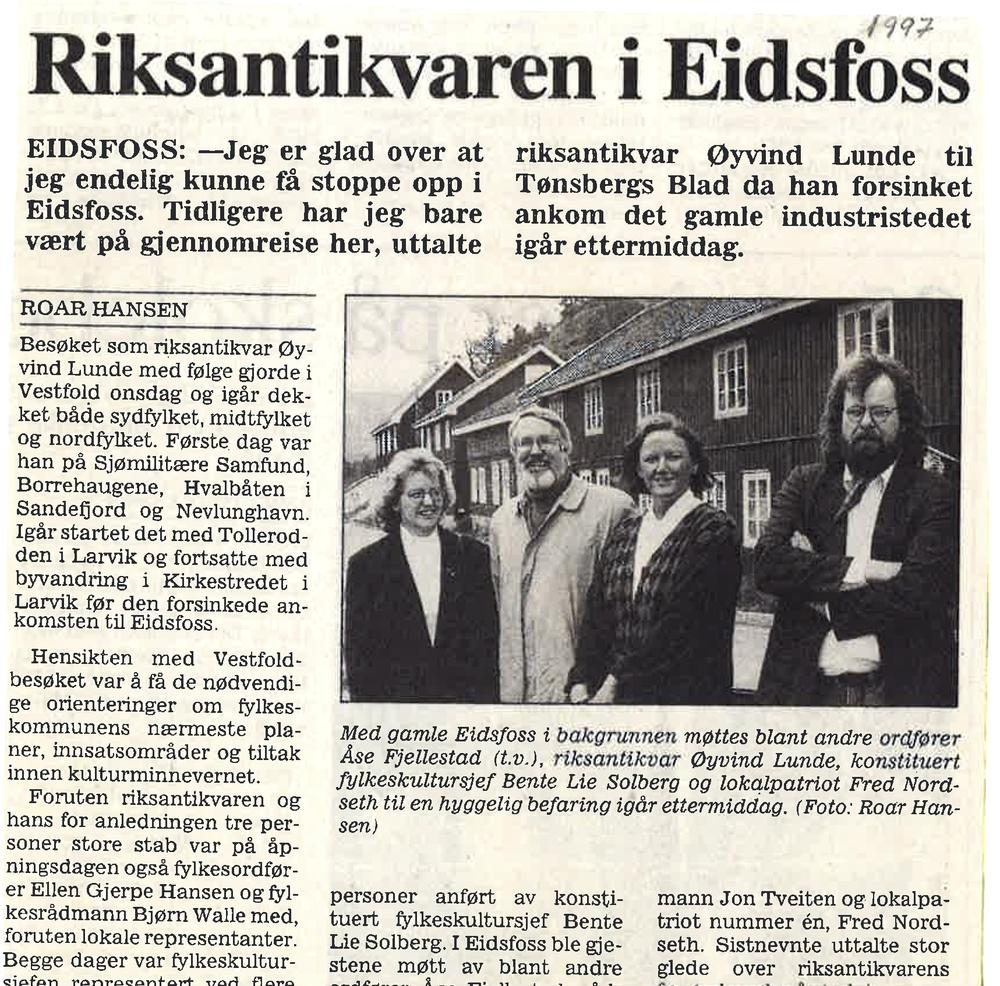 Tønsbers Blad 1997