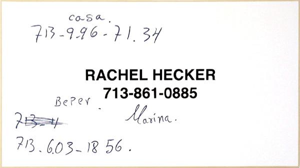 Rachel Hecker