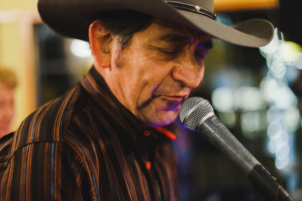karaoke cowboy