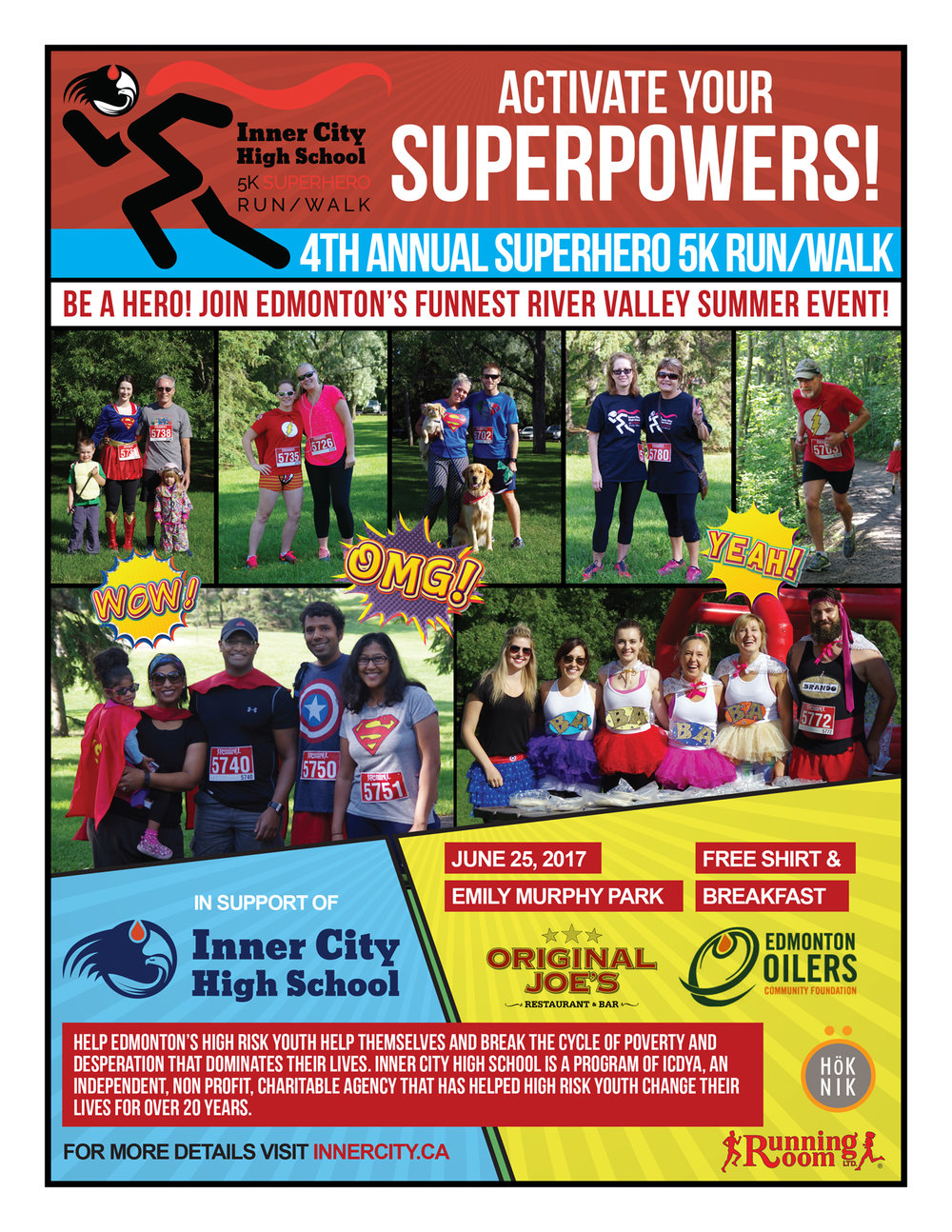 Download Our Race Posters! We have posters n two sizes. Print them and share the news! 8.5x11 Poster | 11x17 Poster