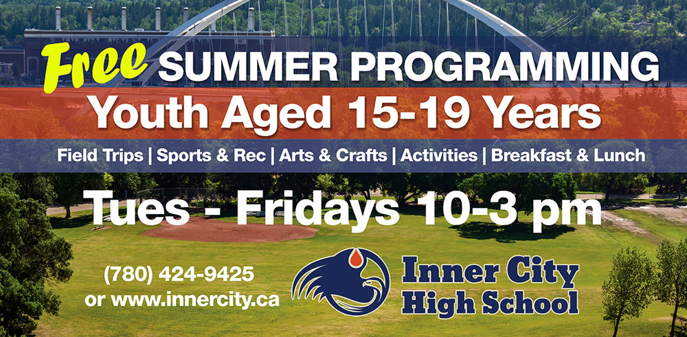 Edmonton Teen Summer Program