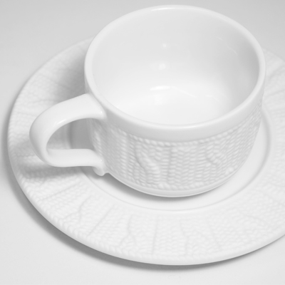 Sweater Cup & Saucer - new