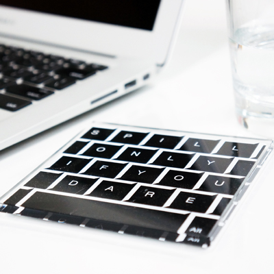 Keyboard Coaster