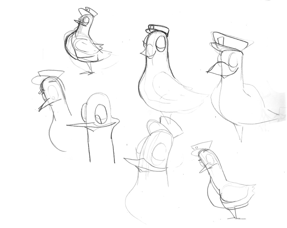 pigeon-sketches